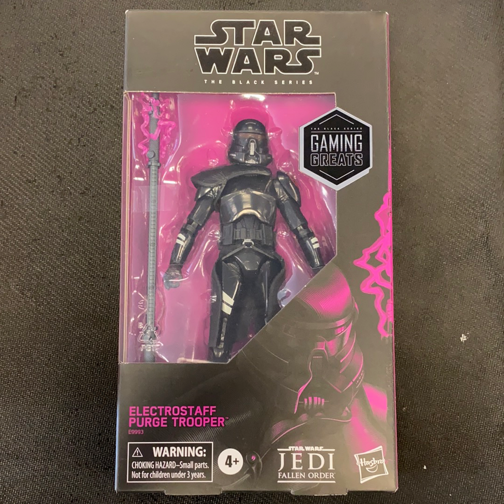 Star Wars: Black Series: Electrostaff Purge Trooper