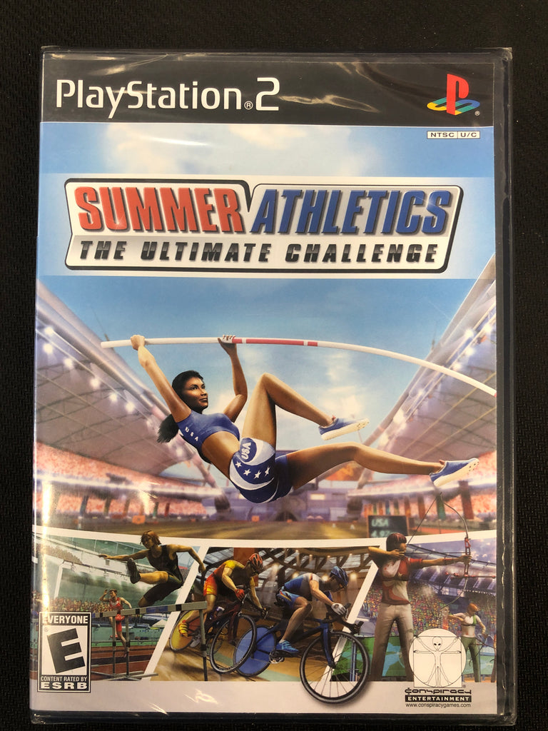 PS2: Summer Athletics: The Ultimate Challenge (Sealed)
