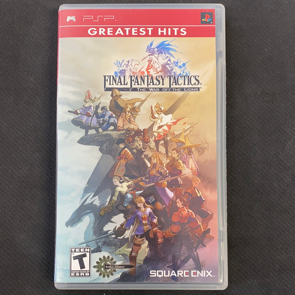 PSP: Final Fantasy Tactics: The War Of The Lions (Greatest Hits) (Missing Manual)