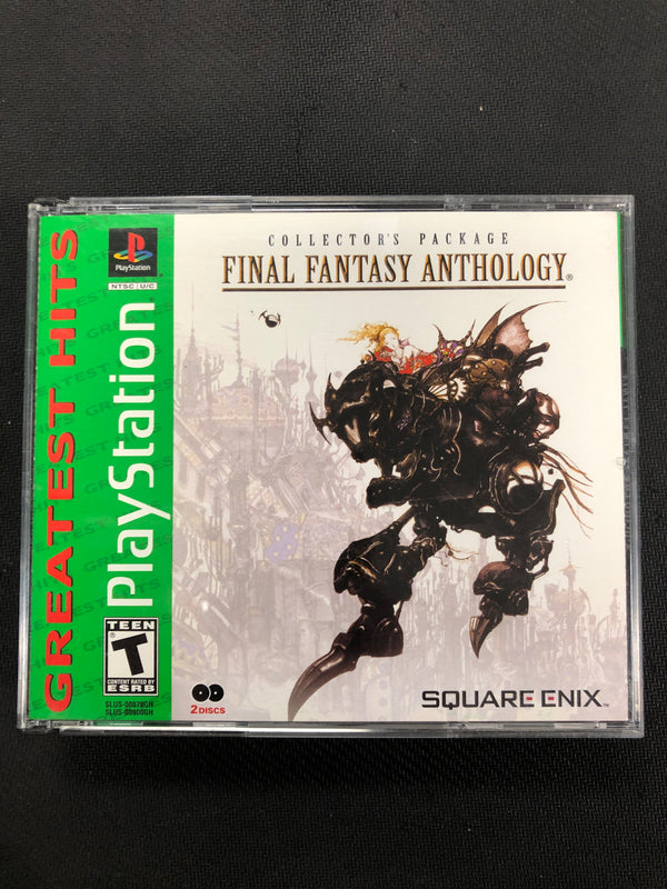 PS1: Final Fantasy Anthology