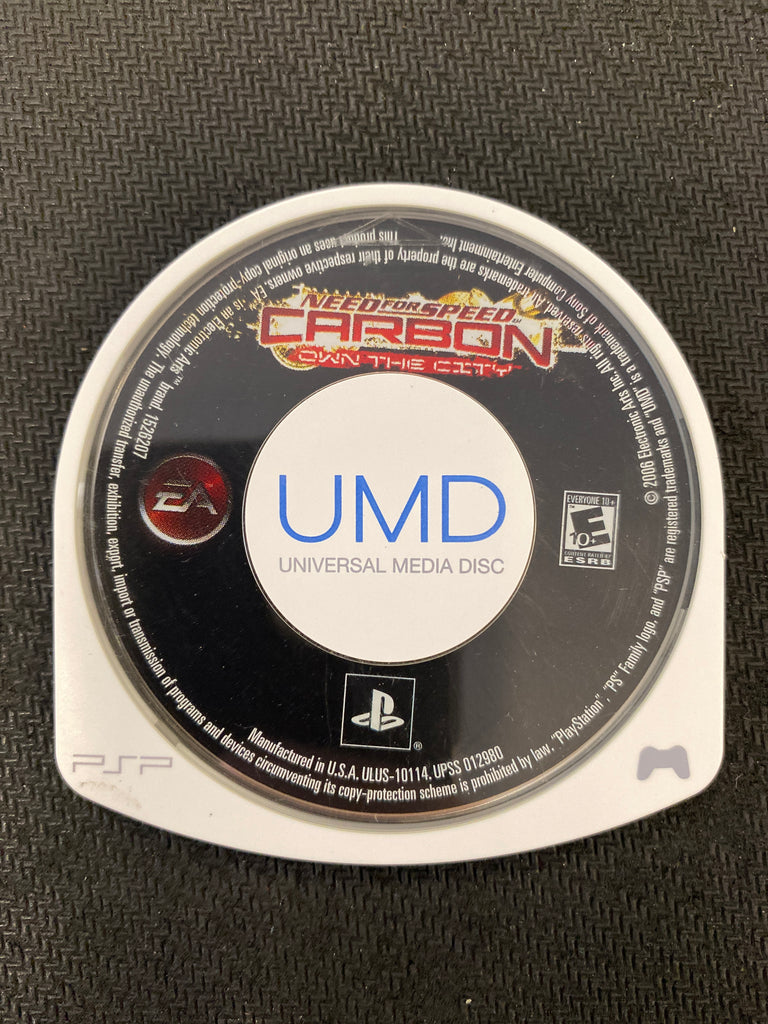 PSP: Need for Speed Carbon: Own the City (Disc Only)
