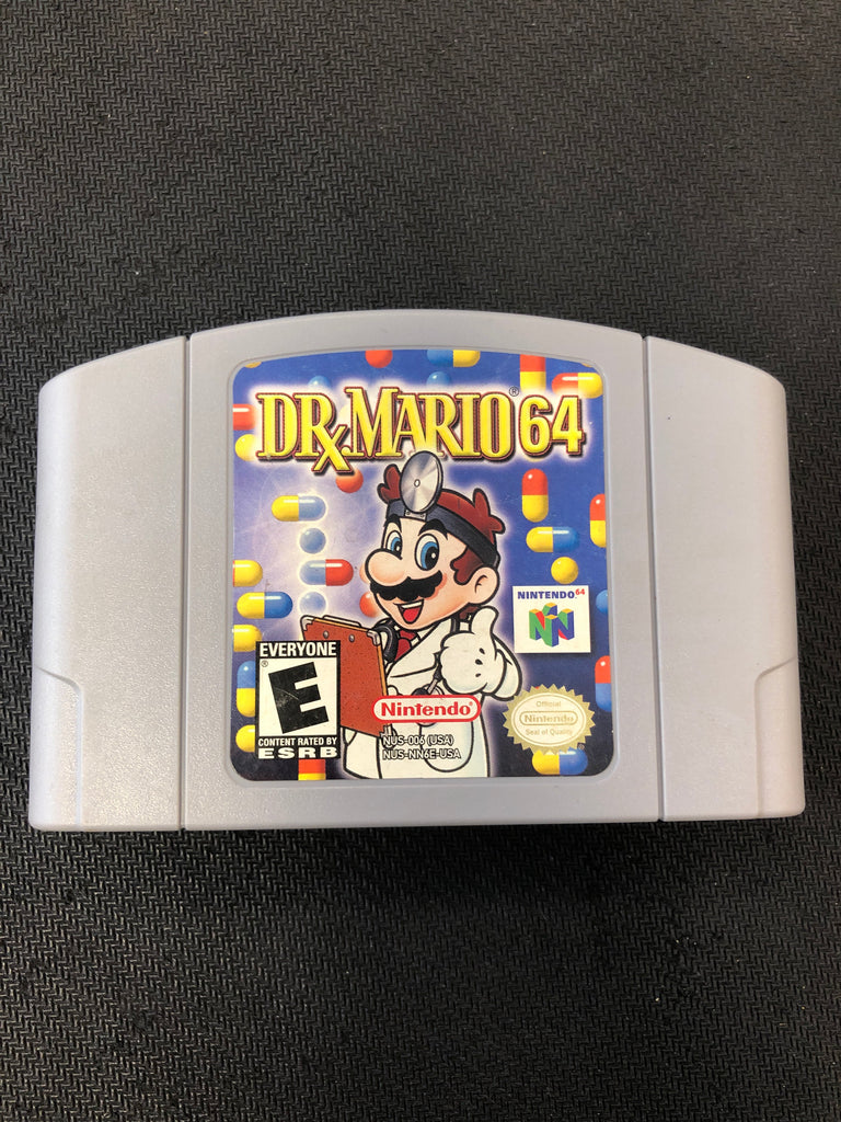N64: Dr Mario 64 (Authentic)