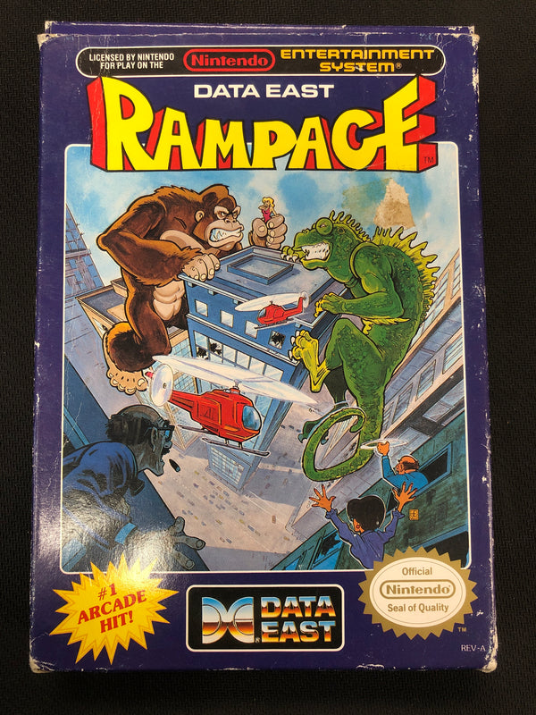 NES: Rampage (Boxed)