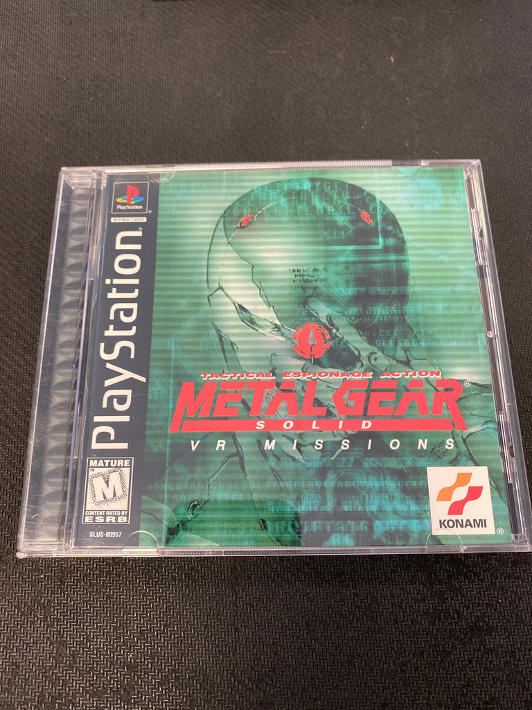 PS1: Metal Gear Solid: VR Missions