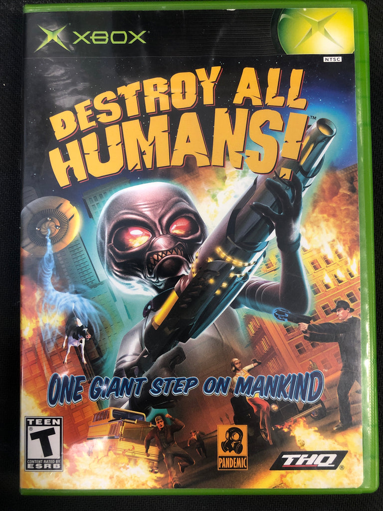 Xbox: Destroy all Humans