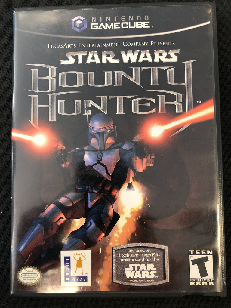 GameCube: Star Wars Bounty Hunter (with card)