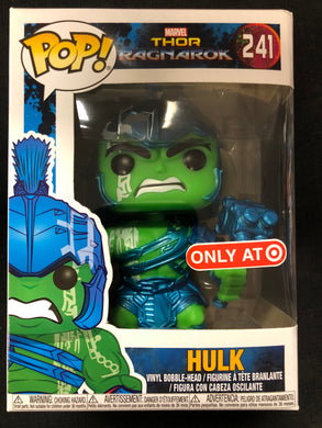 Funko Pop! Hulk (Blue Gladiator) #241