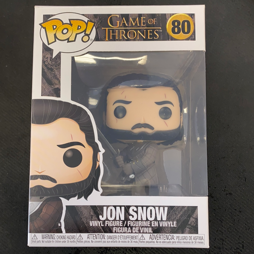 Funko Pop! Game of Thrones: Jon Snow (Season 8) #80