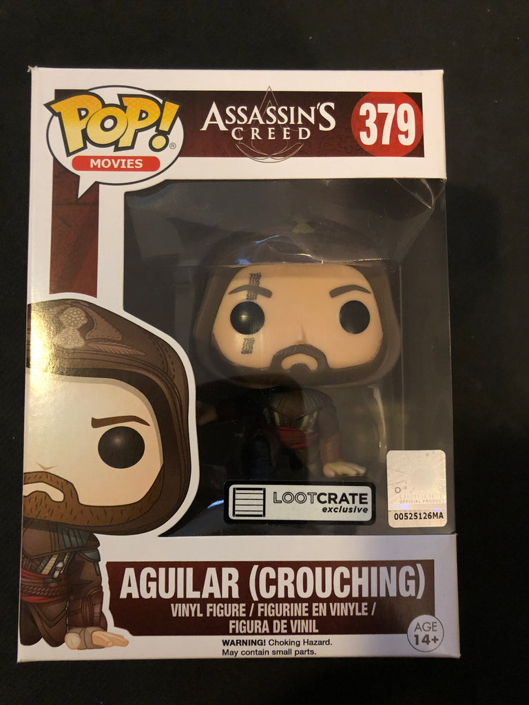Funko Pop! Assassin's Creed: Aguilar (Crouching) #379