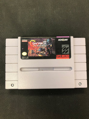 SNES: Contra III The Alien Wars