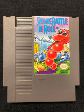 NES: Snake Rattle N Roll