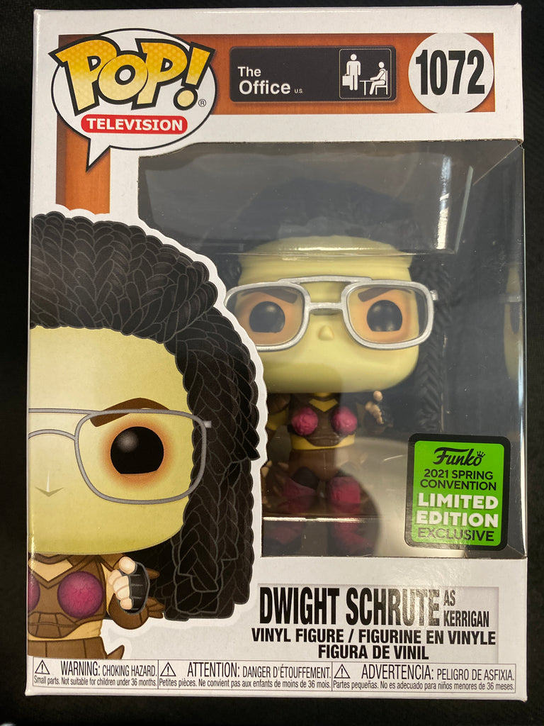 Funko Pop! The Office: Dwight Schrute (as Kerrigan) (with Convention Sticker) #1072