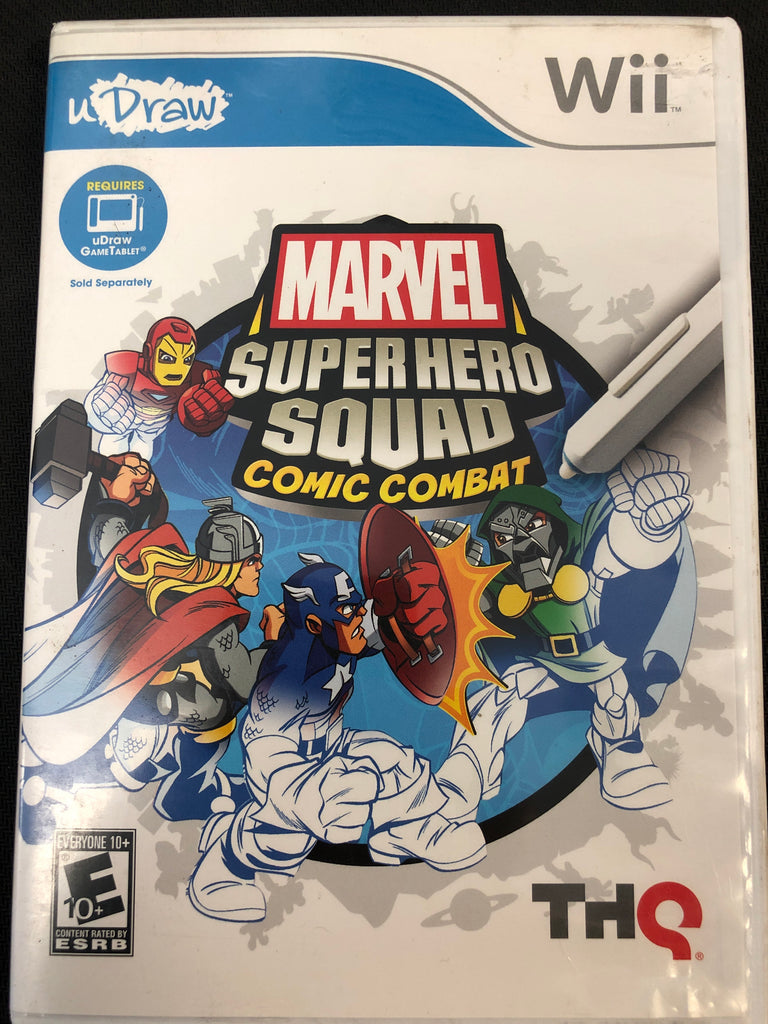 Wii: uDraw Marvel Super Hero Squad: Comic Combat