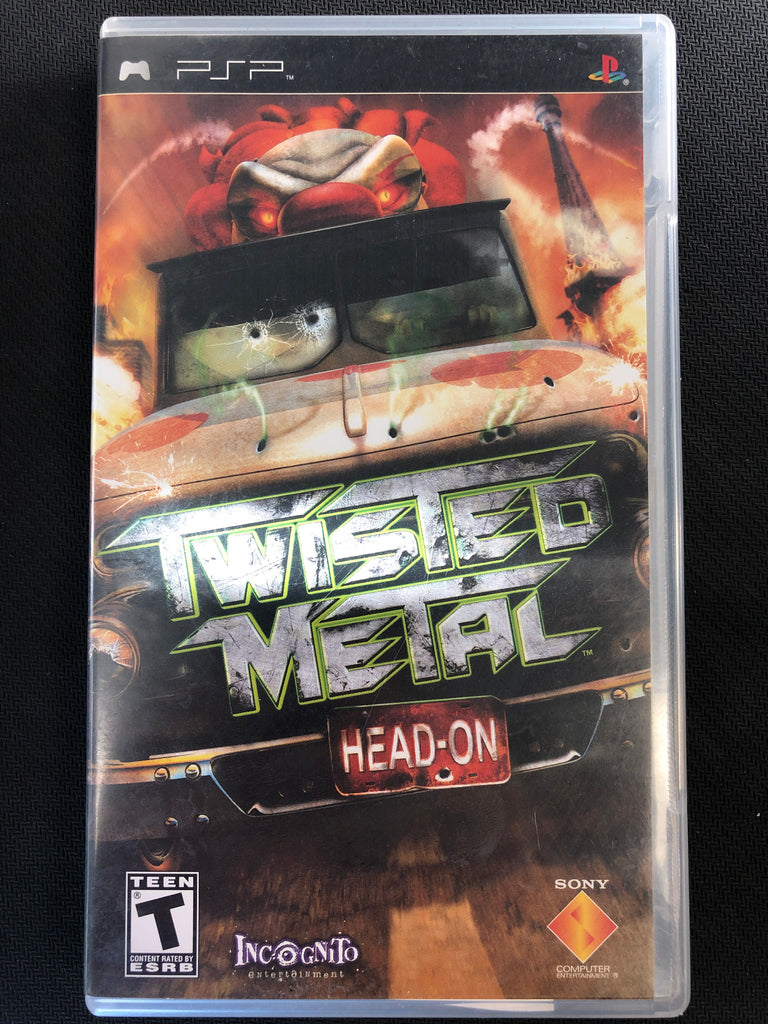 PSP: Twisted Metal Head On