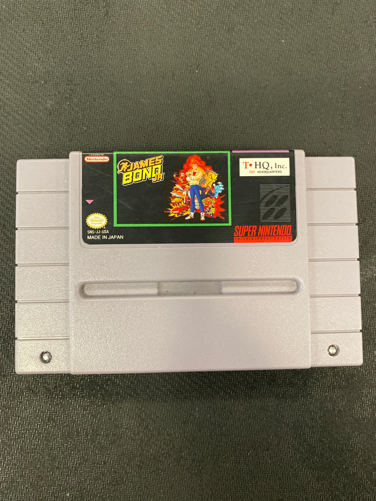 SNES: James Bond Jr