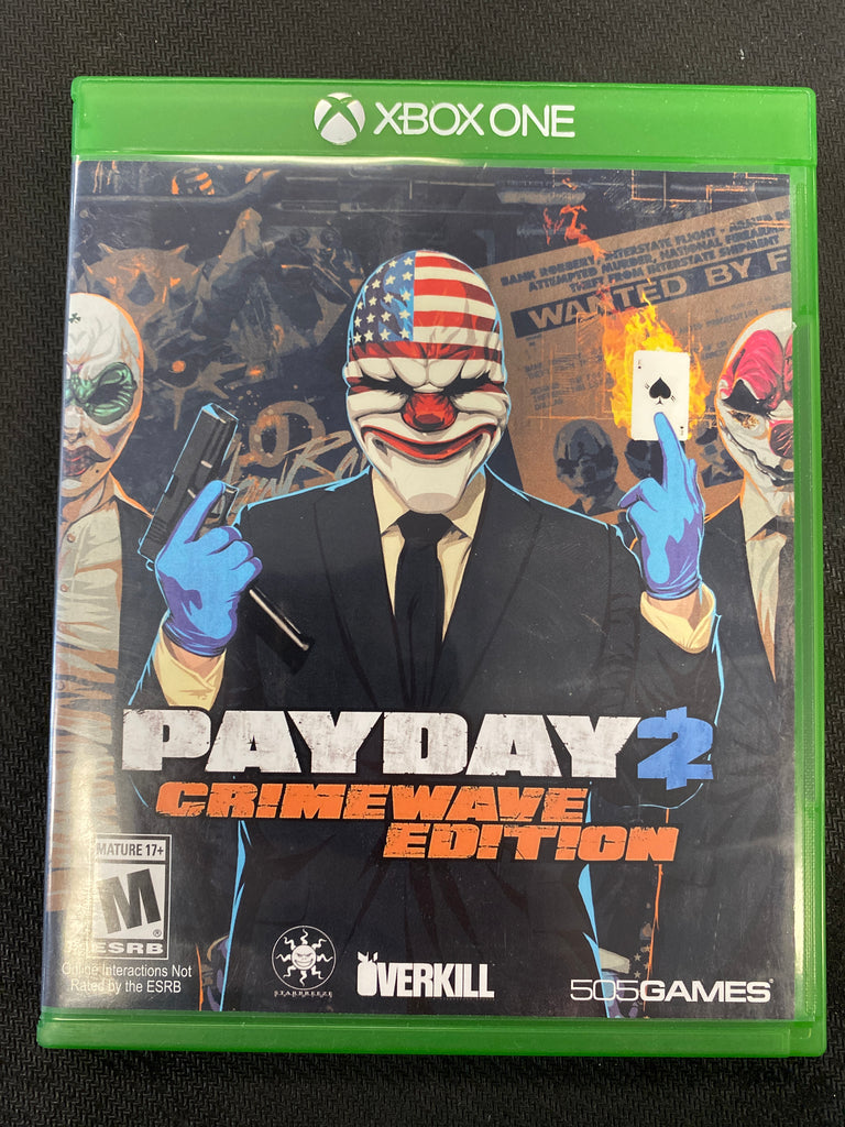 Xbox One: Payday 2: Crimewave Edition