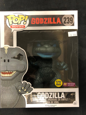 Funko Pop! Godzilla (Glow in the Dark) #239