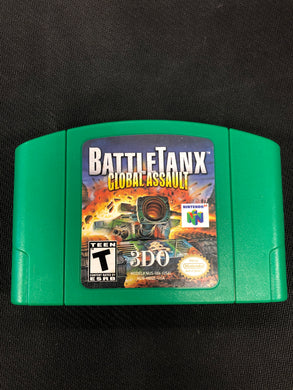 N64: Battle Tanx Global Assault