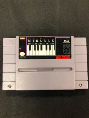 SNES: Miracle: Piano Teaching System