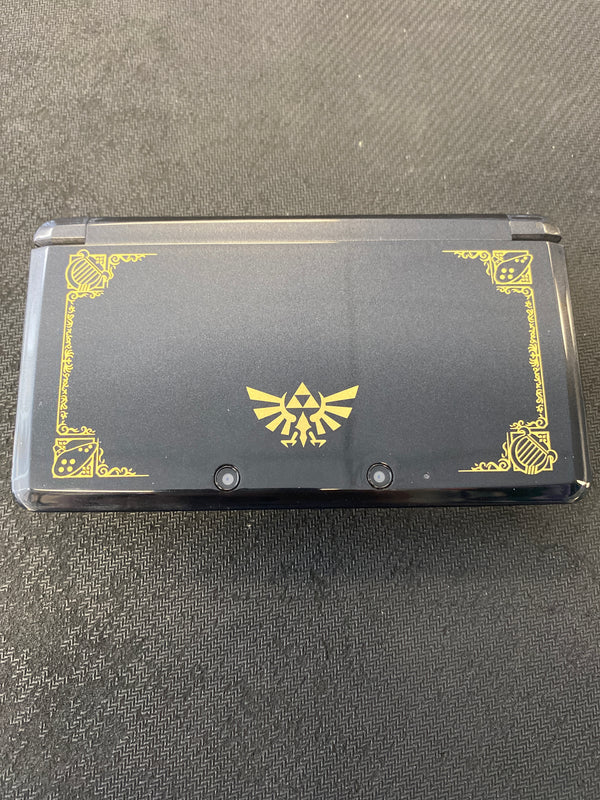 3DS: Nintendo 3DS 25th Anniversary Zelda Edition Black (Refurbished)