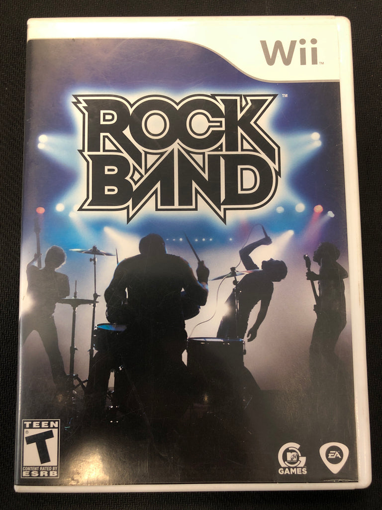 Wii: Rock Band