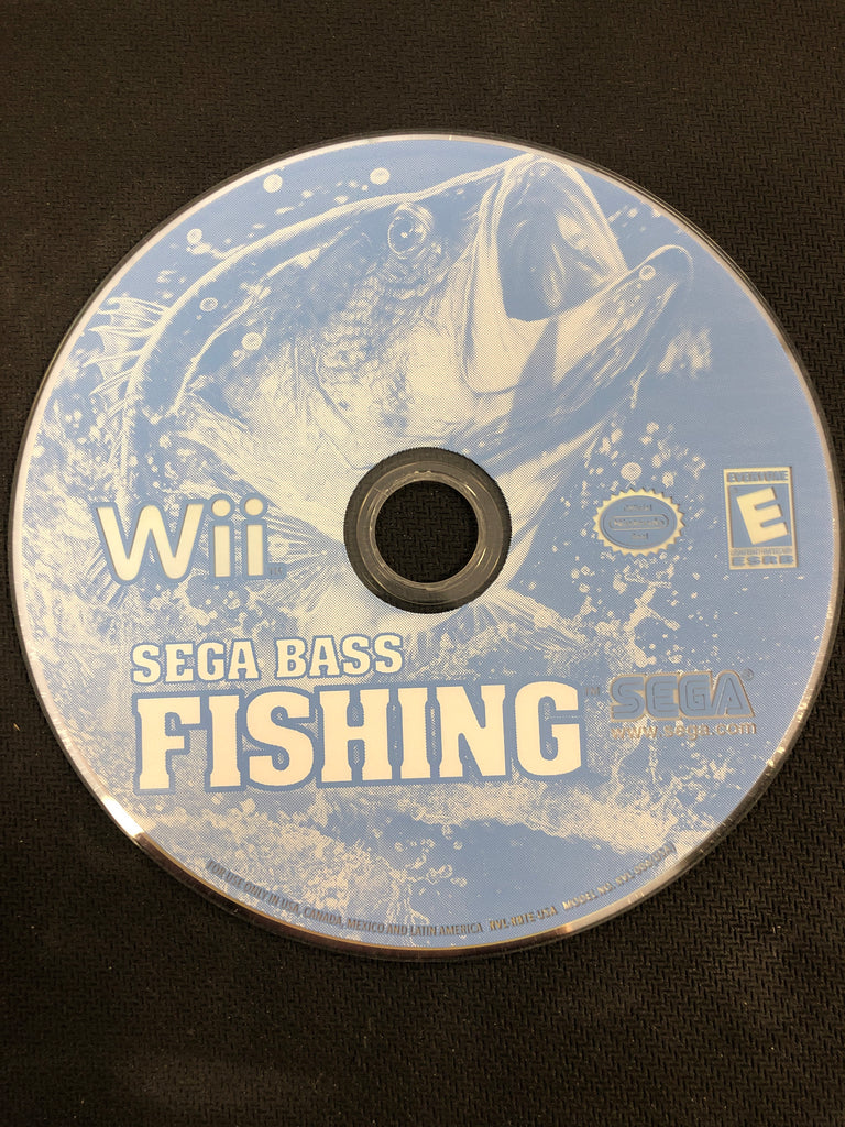 Wii: Sega Bass Fishing (Disc Only)