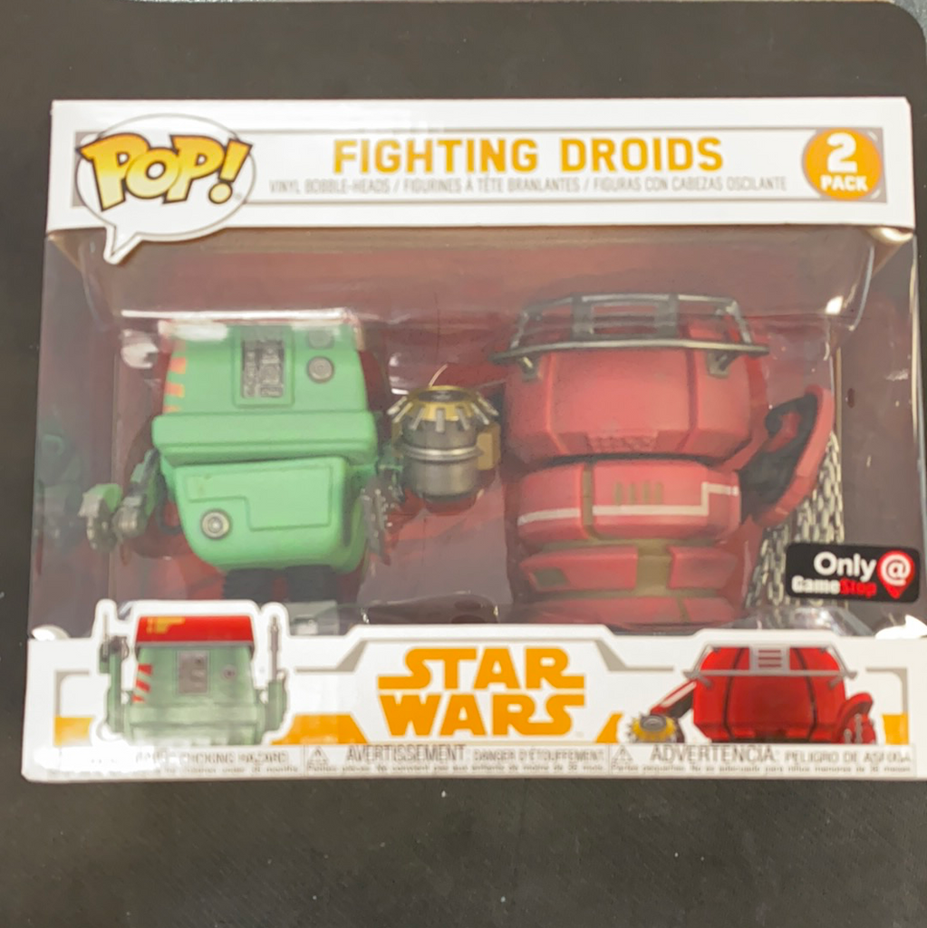 Funko Pop! Fighting Droids - 2 Pack