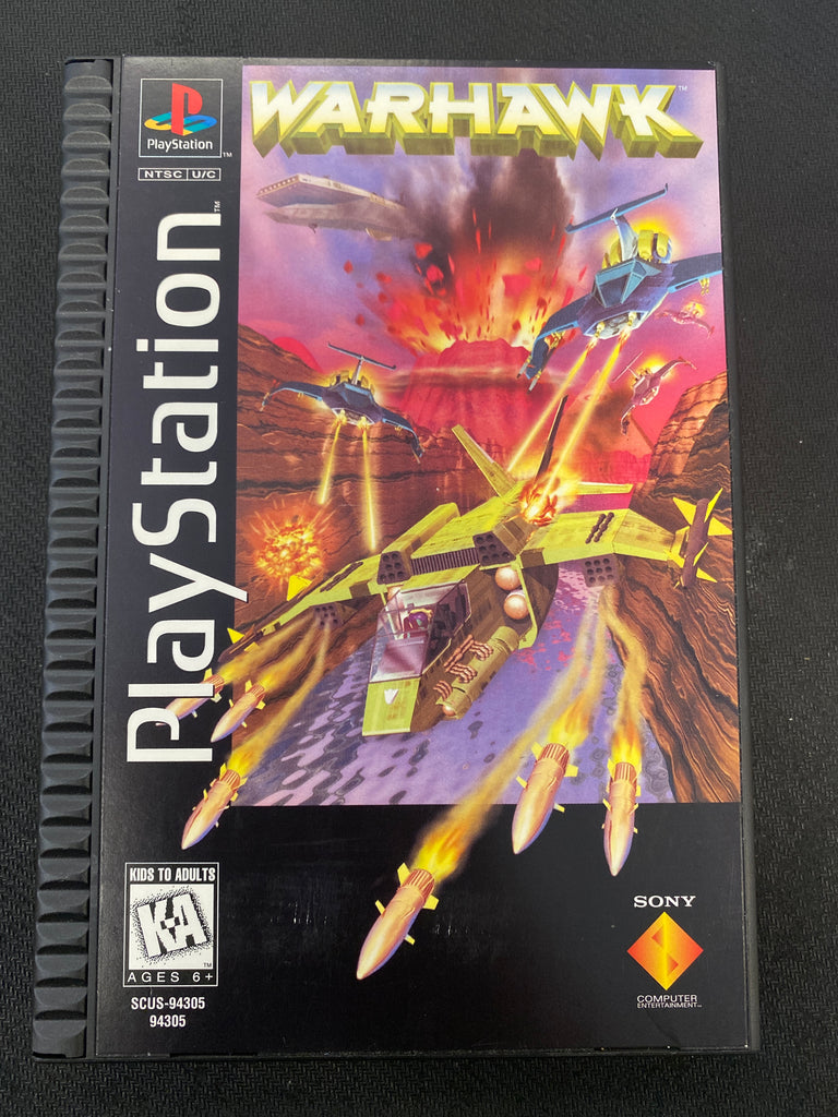PS1: Warhawk (Long Box)