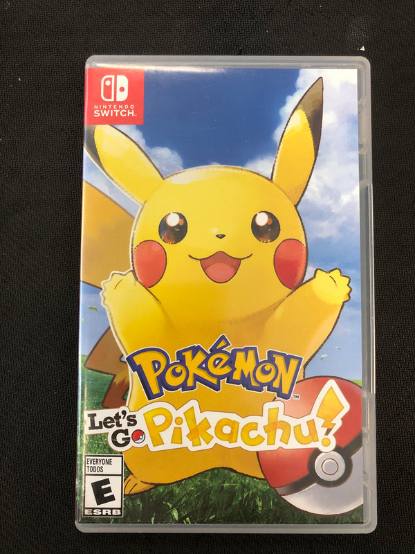 Switch: Pokemon: Let's Go Pikachu!