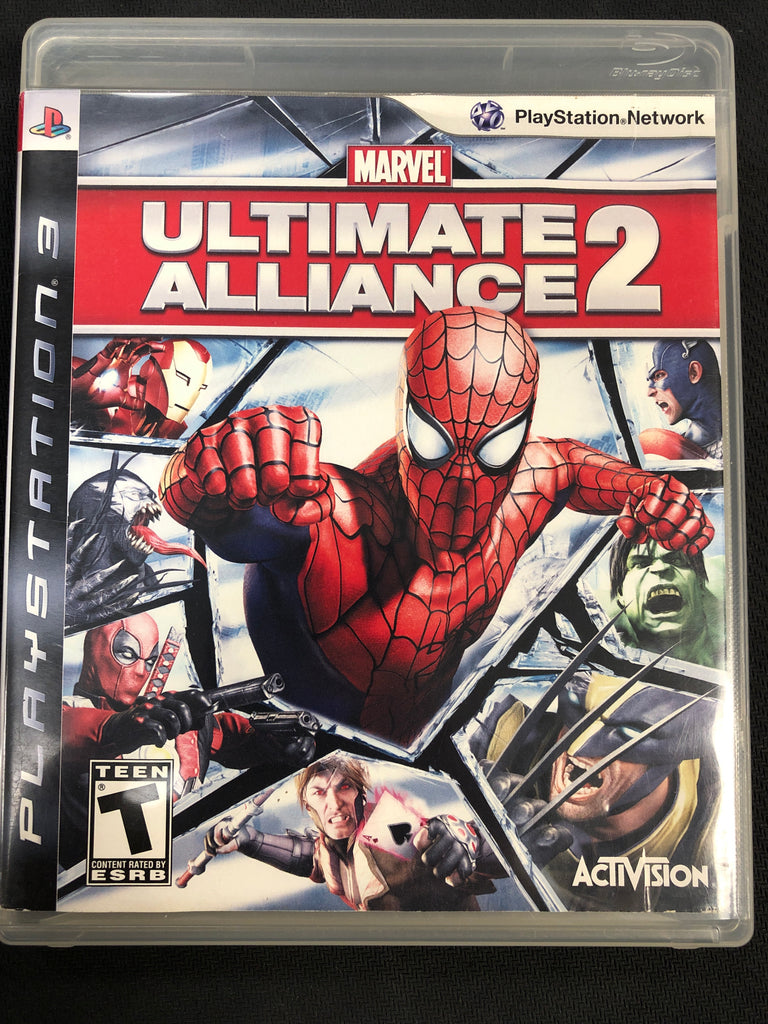 PS3: Marvel Ultimate Alliance 2 (Missing Manual)