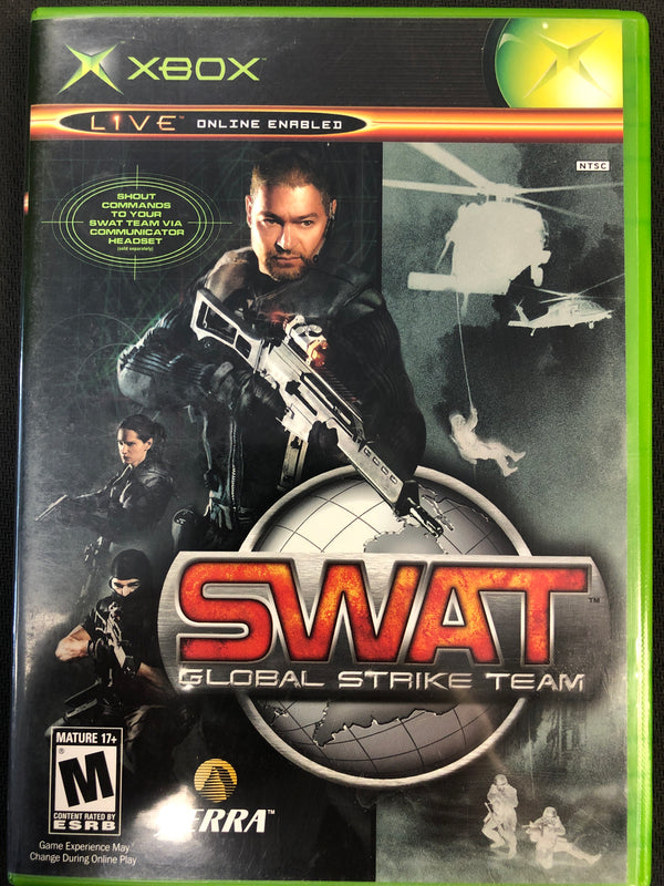 Xbox: SWAT Global Strike Team
