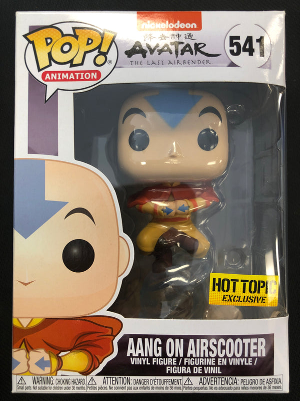 Funko Pop! Aang on Airscooter #541