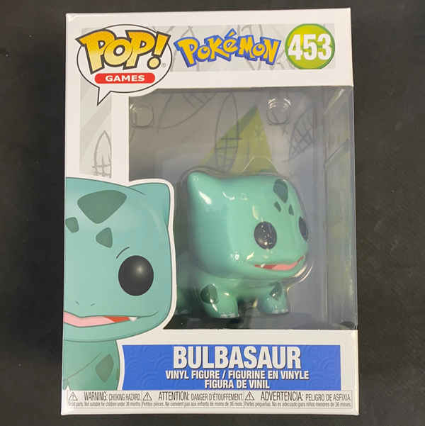 Funko Pop! Pokemon: Bulbasaur #453