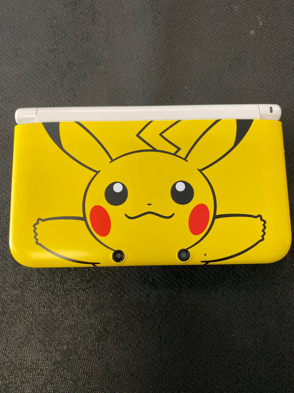 3DS: Nintendo 3DS XL Pikachu Limited Edition (Refurbished)
