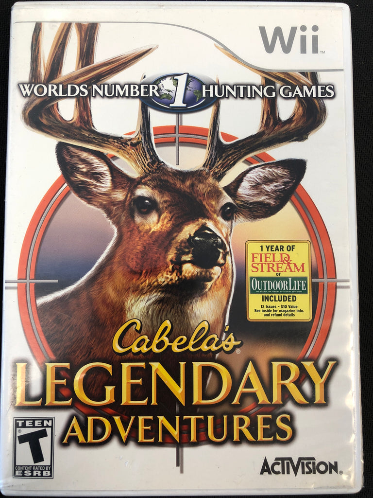 Wii: Cabela's Legendary Adventures