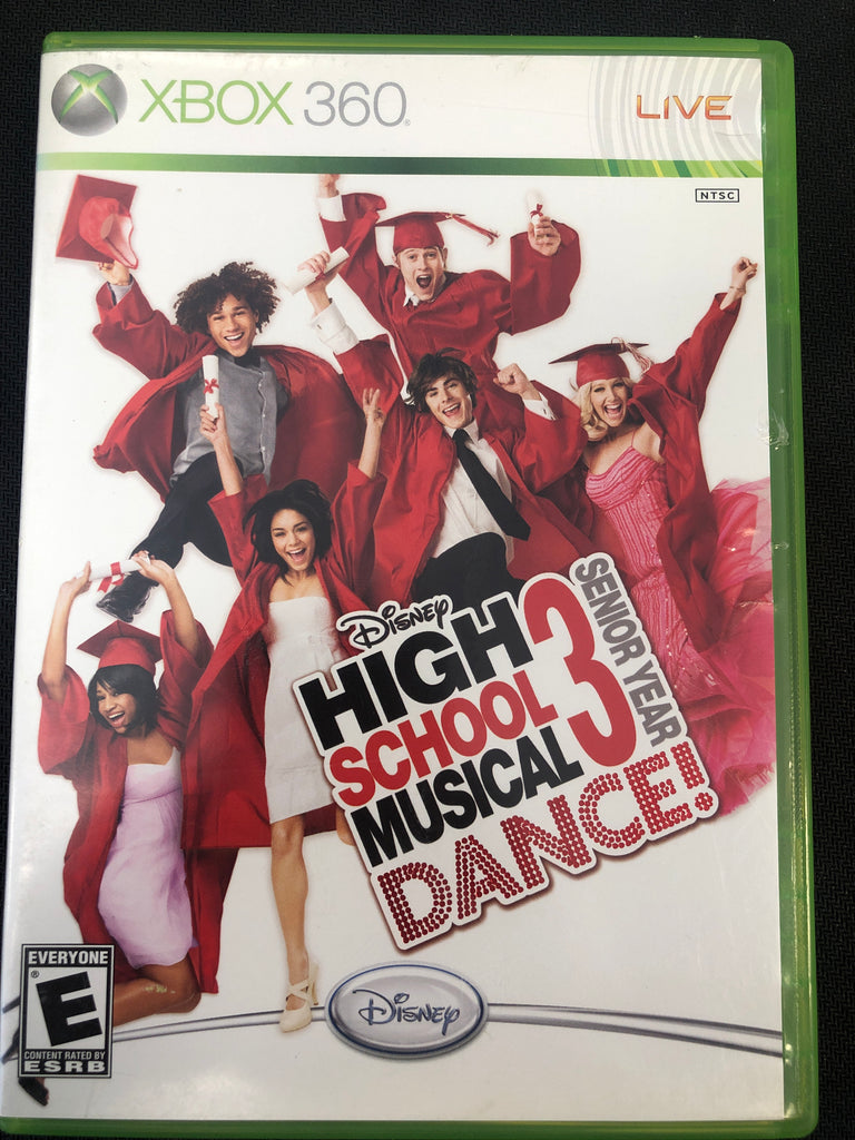 Xbox 360: High School Musical Dance 3 Senior Year