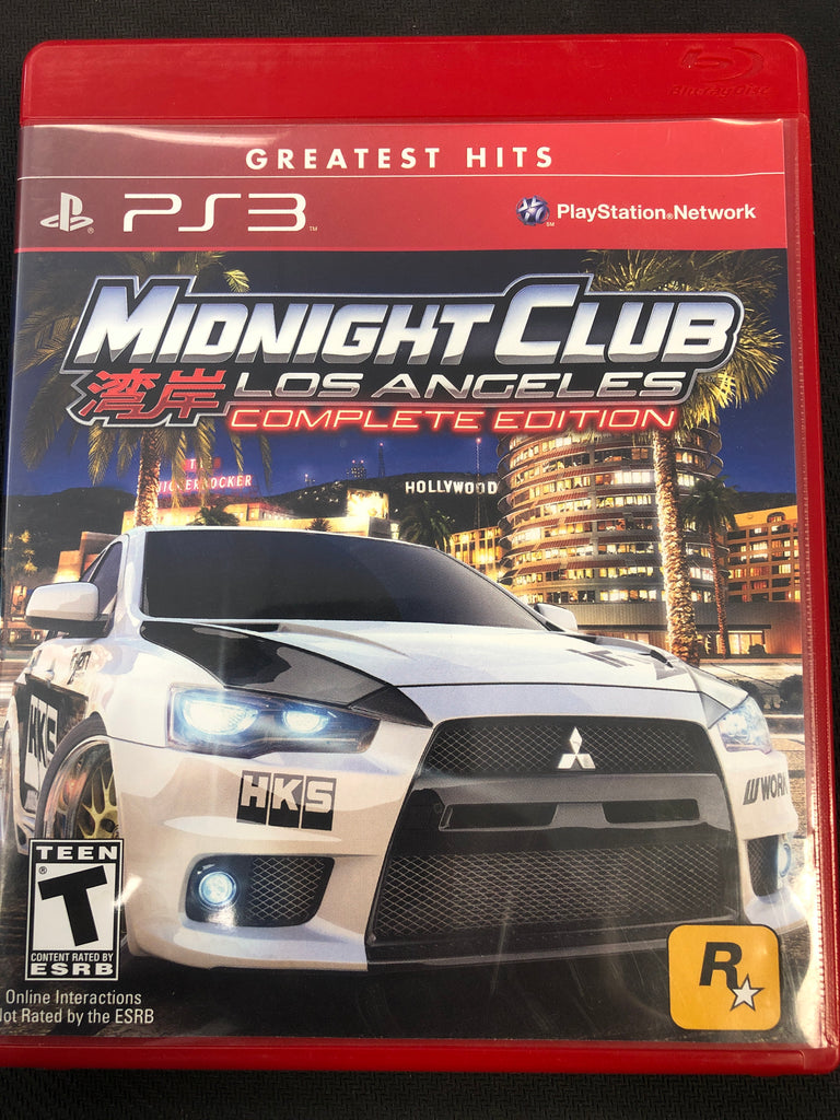 PS3: Midnight Club: Los Angeles (Complete Edition) (Greatest Hits)