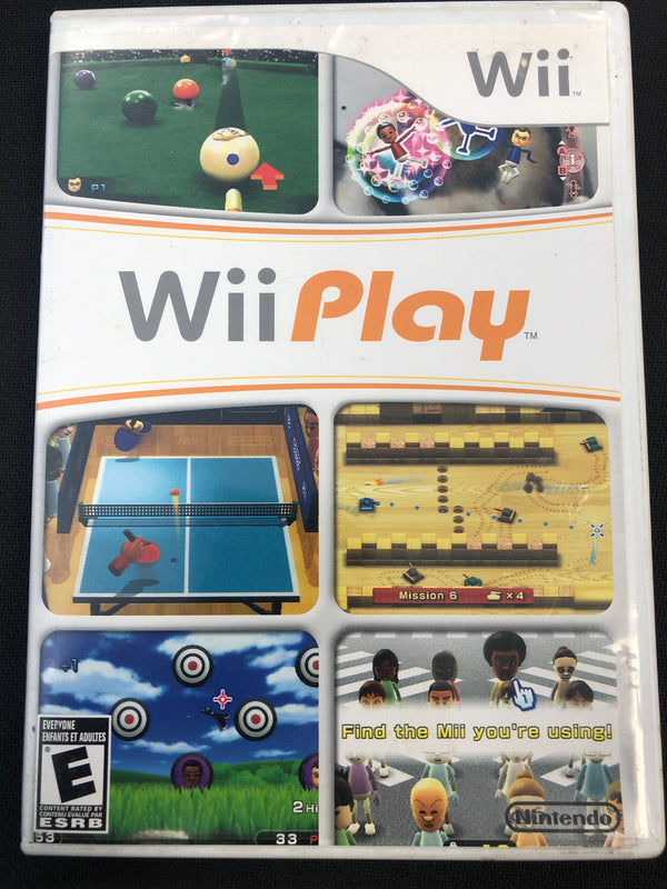 Wii: Wii Play