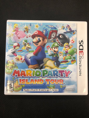 3DS: Mario Party Island Tour