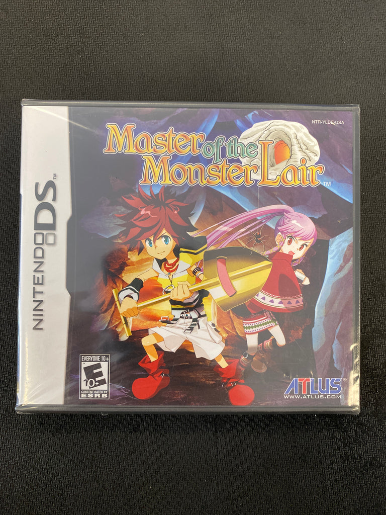 DS: Master of the Monster Lair (Brand New)