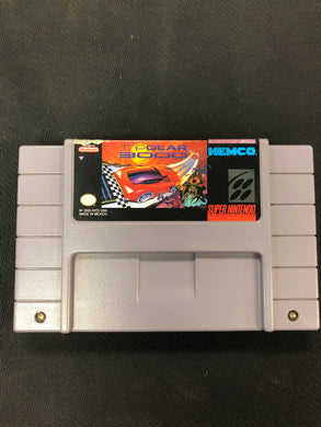 SNES: Top Gear 3000