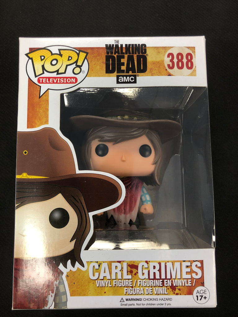 Funko Pop! The Walking Dead: Carl Grimes #388