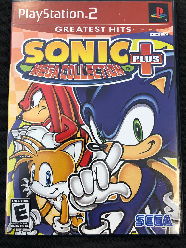 PS2: Sonic Mega Collection Plus (Greatest Hits)