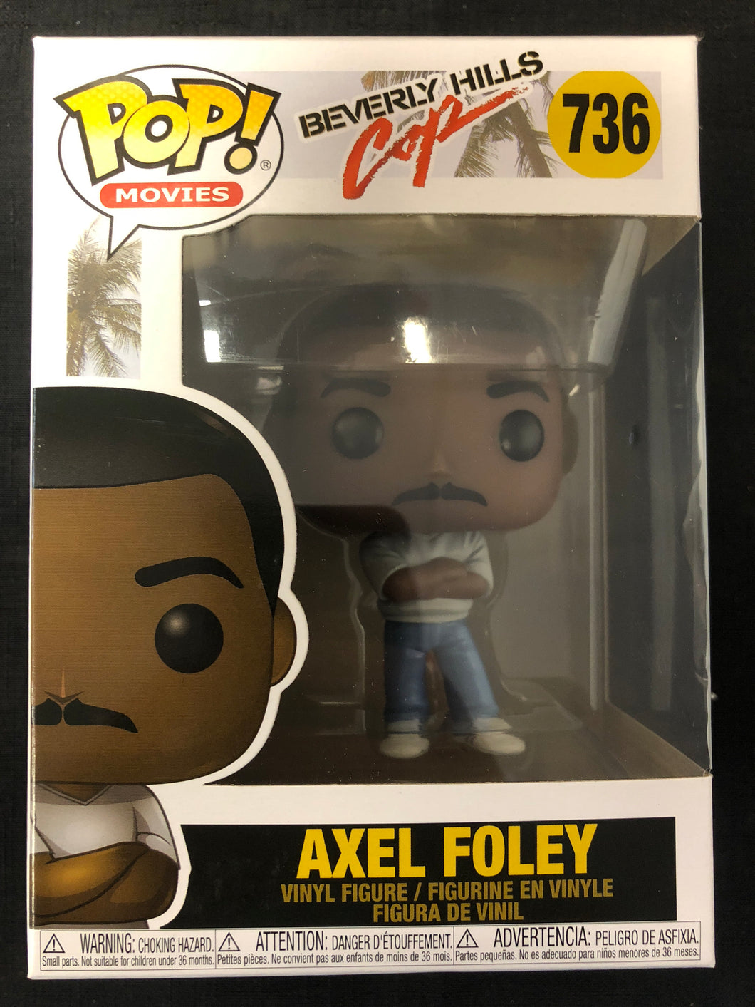 Funko Pop! Beverly Hills Cop: Axel Foley #736