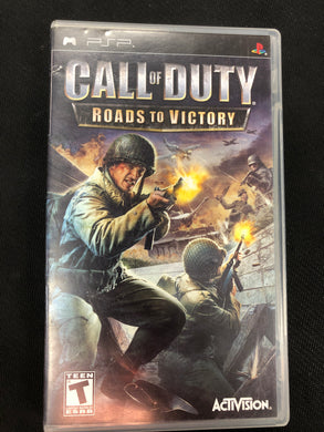 PSP: Call of Duty: Roads to Victory
