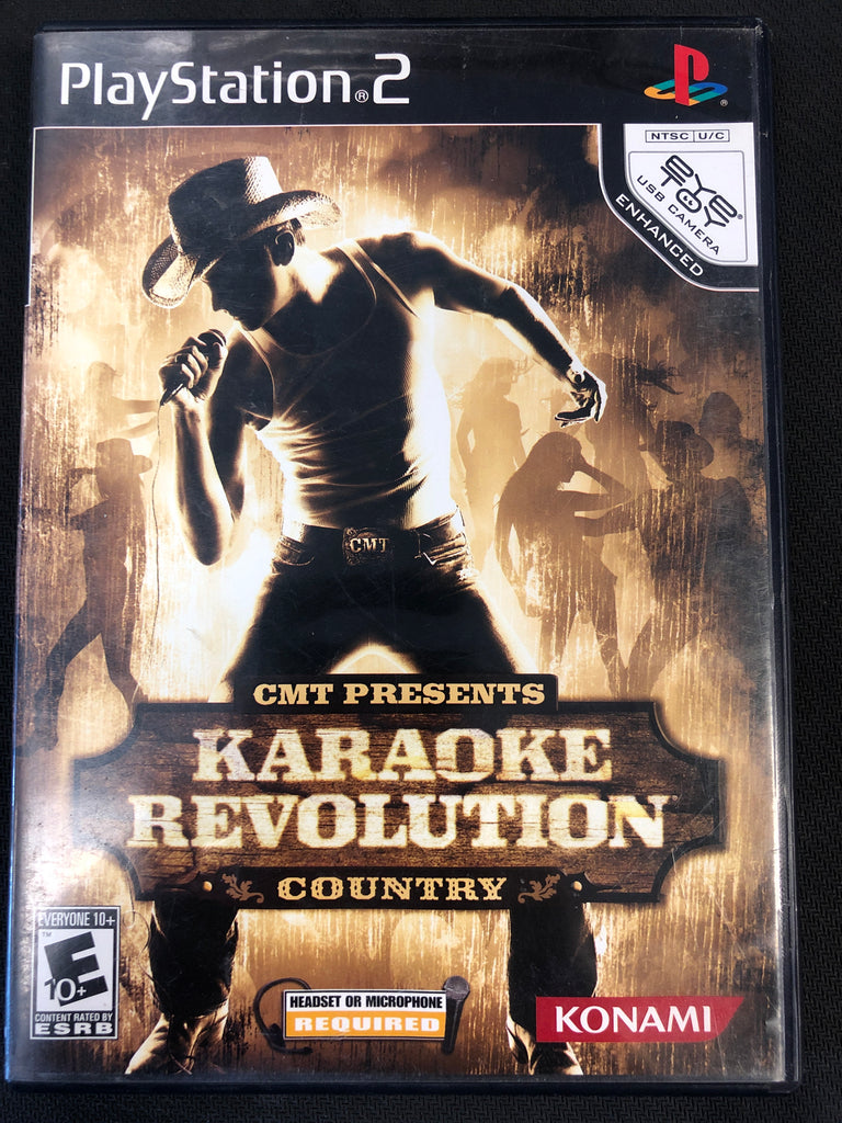 PS2: Karaoke Revolution Country