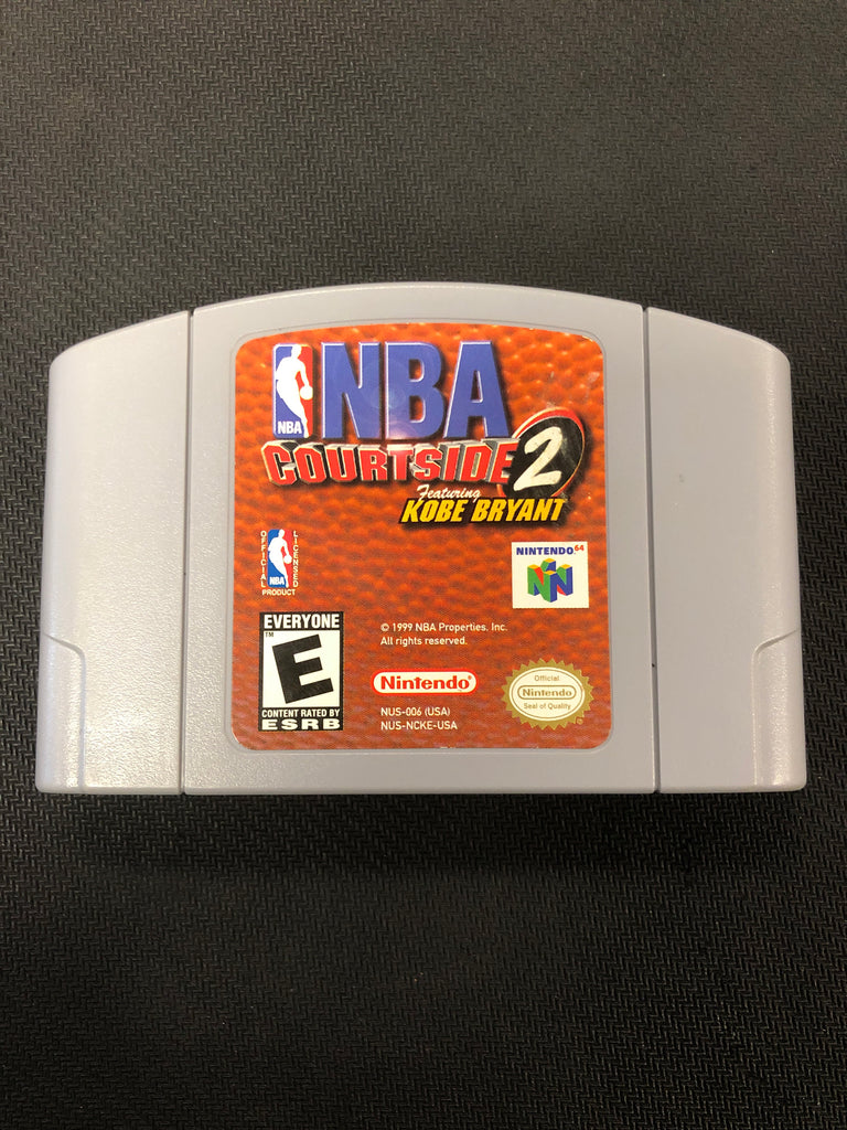 N64: NBA Courtside 2 featuring Kobe Bryant