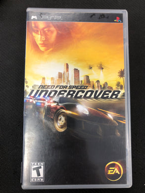 PSP: Need for Speed: Undercover