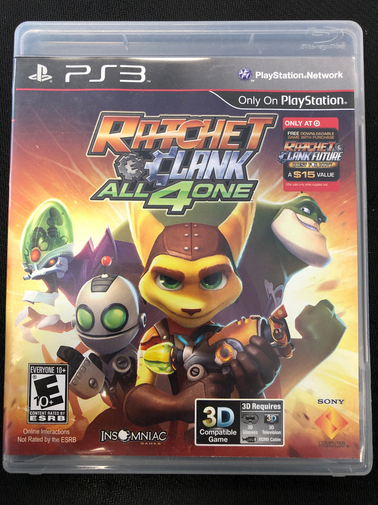 PS3: Ratchet & Clank: All 4 One