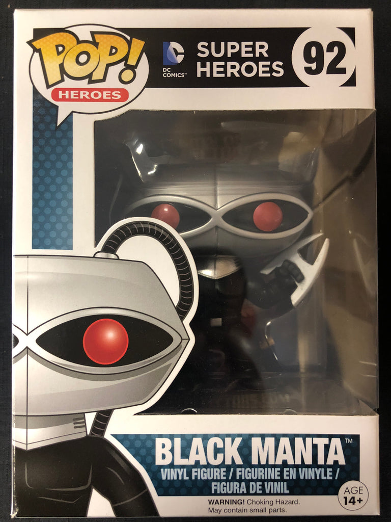Funko Pop! Super Heroes: Black Manta #92